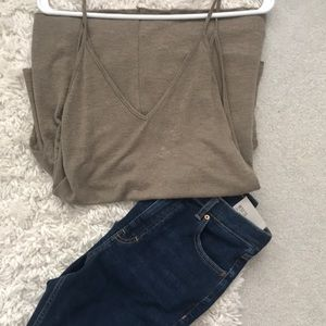 Urban Outfitters Gold Tank Top
